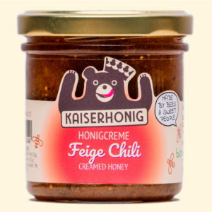 Feige Chile Honigcreme, großes Glas