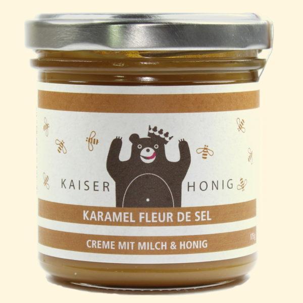 Karamel Fleur de Sel Milchcreme 167ml Glas